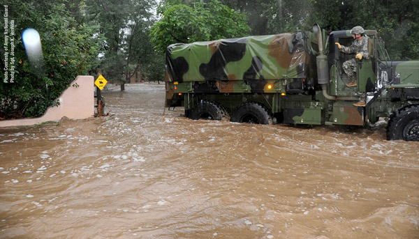 National Guard Flood Relief